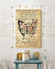 Butterfly - Wonderful World Poster SKY 11x17 Poster lifestyle-holiday-poster-3