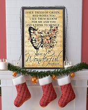 Butterfly - Wonderful World Poster SKY 11x17 Poster lifestyle-holiday-poster-4