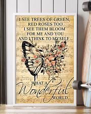 Butterfly - Wonderful World Poster SKY 11x17 Poster lifestyle-poster-4