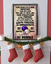 YOUR CHARACTER IS MORE bowling 16x24 Poster lifestyle-holiday-poster-4