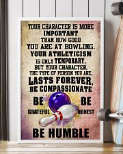 YOUR CHARACTER IS MORE bowling 16x24 Poster lifestyle-poster-4