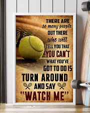 TENNIS - THERE ARE SO MANY PEOPLE POSTER SKY 11x17 Poster lifestyle-poster-4