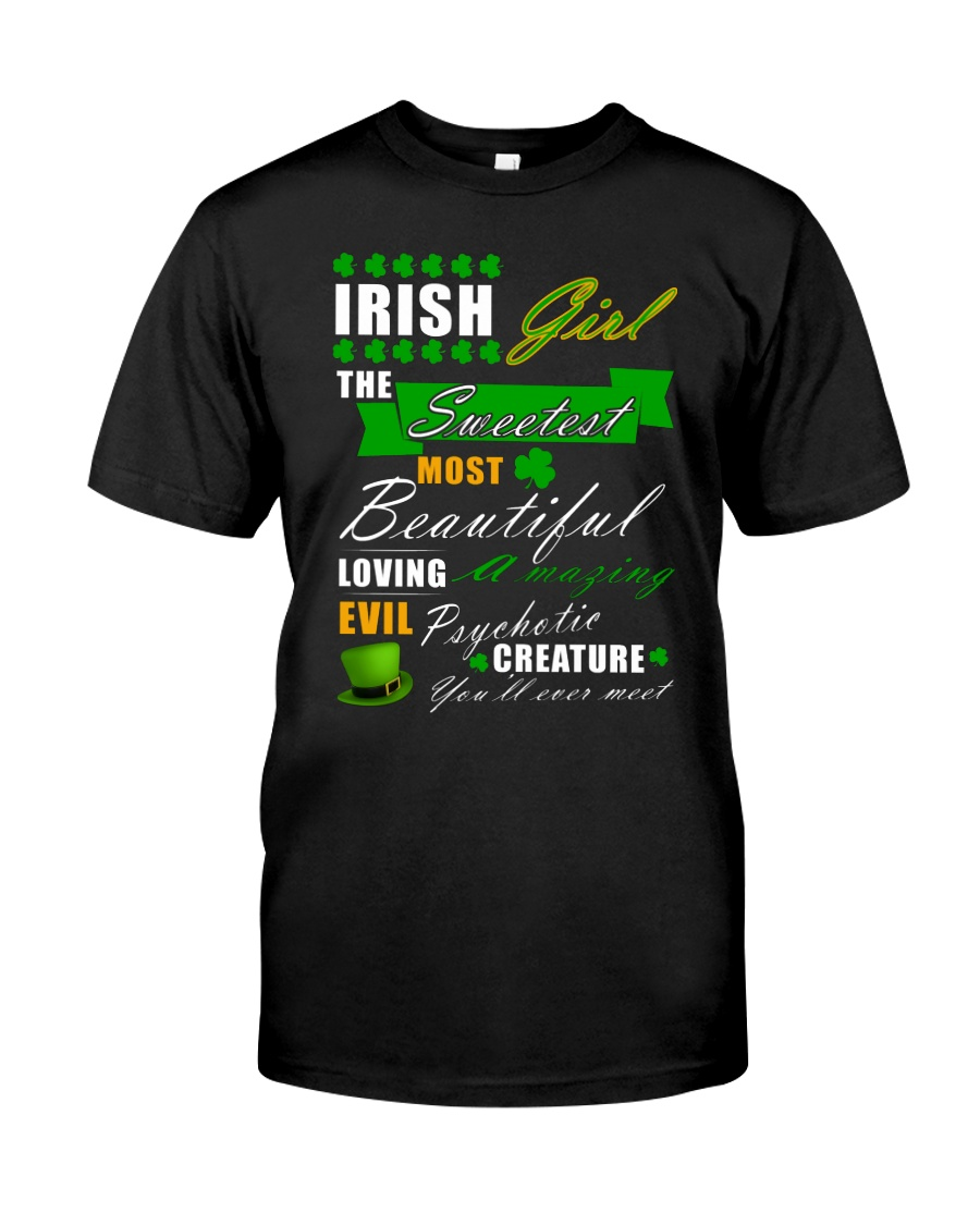 irish girl the sweetest Classic T-Shirt