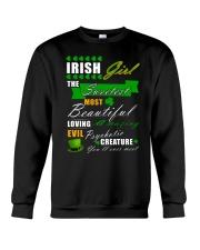 irish girl the sweetest Crewneck Sweatshirt thumbnail