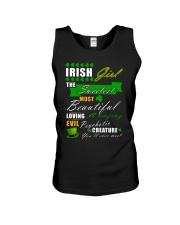 irish girl the sweetest Unisex Tank thumbnail