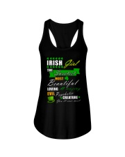 irish girl the sweetest Ladies Flowy Tank thumbnail
