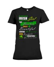 irish girl the sweetest Premium Fit Ladies Tee thumbnail