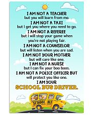 School Bus Driver Poster 11x17 Poster front