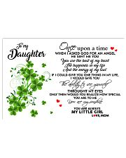TO MY DAUGHTER- ONE UPON A TIME POSTER- MOM 17x11 Poster front
