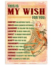 SKATE - THIS IS MY WISH FOR YOU 11x17 Poster front