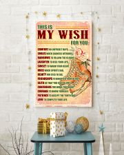 SKATE - THIS IS MY WISH FOR YOU 11x17 Poster lifestyle-holiday-poster-3