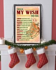 SKATE - THIS IS MY WISH FOR YOU 11x17 Poster lifestyle-holiday-poster-4