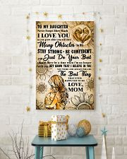 TO MY DAUGHTER - I LOVE YOU - Mom POSTER 11x17 Poster lifestyle-holiday-poster-3