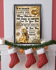 TO MY DAUGHTER - I LOVE YOU - Mom POSTER 11x17 Poster lifestyle-holiday-poster-4