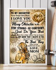 TO MY DAUGHTER - I LOVE YOU - Mom POSTER 11x17 Poster lifestyle-poster-4