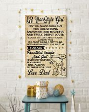 TO MY HAIRSTYLE GIRL DAD 16x24 Poster lifestyle-holiday-poster-3