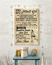 TO MY NETBALL GIRL- MOM 16x24 Poster lifestyle-holiday-poster-3