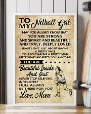 TO MY NETBALL GIRL- MOM 16x24 Poster lifestyle-poster-4