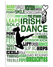 IRISH DANCE- HARD SHOES 11x17 Poster front