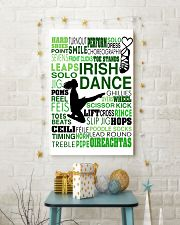 IRISH DANCE- HARD SHOES 11x17 Poster lifestyle-holiday-poster-3