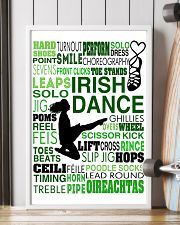 IRISH DANCE- HARD SHOES 11x17 Poster lifestyle-poster-4