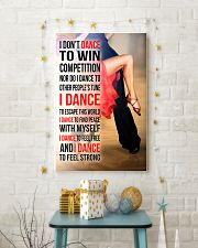 I DON'T DANCE TO WIN COMPETITION - SALSA 11x17 Poster lifestyle-holiday-poster-3