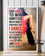 I DON'T DANCE TO WIN COMPETITION - SALSA 11x17 Poster lifestyle-poster-4