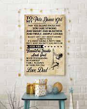 TO MY POLE DANCE GIRL- dad 16x24 Poster lifestyle-holiday-poster-3