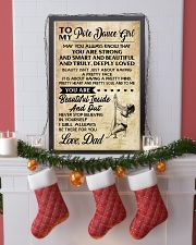 TO MY POLE DANCE GIRL- dad 16x24 Poster lifestyle-holiday-poster-4