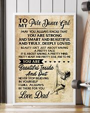 TO MY POLE DANCE GIRL- dad 16x24 Poster lifestyle-poster-4