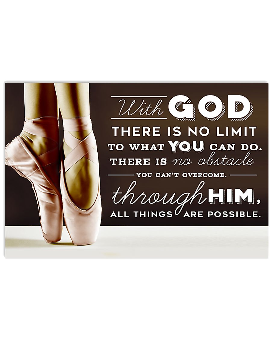 DANCE - WITH GOD 17x11 Poster