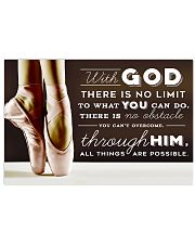 DANCE - WITH GOD 17x11 Poster front