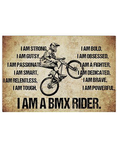 I AM A bmx rider POSTER