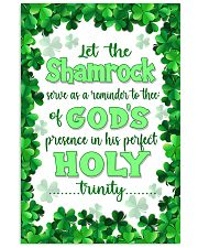 Irish - Let the Shamrock Poster SKY 11x17 Poster front