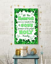 Irish - Let the Shamrock Poster SKY 11x17 Poster lifestyle-holiday-poster-3