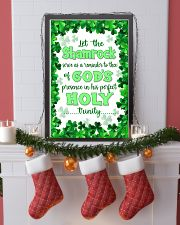 Irish - Let the Shamrock Poster SKY 11x17 Poster lifestyle-holiday-poster-4
