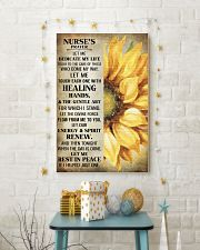 Nurse's prayer let me Dedicate my life Poster 11x17 Poster lifestyle-holiday-poster-3