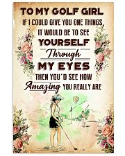TO MY GOLF GIRL - YOU REALLY ARE 11x17 Poster front