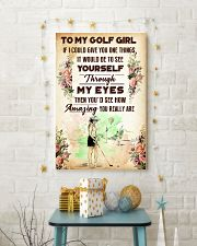 TO MY GOLF GIRL - YOU REALLY ARE 11x17 Poster lifestyle-holiday-poster-3