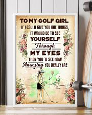 TO MY GOLF GIRL - YOU REALLY ARE 11x17 Poster lifestyle-poster-4