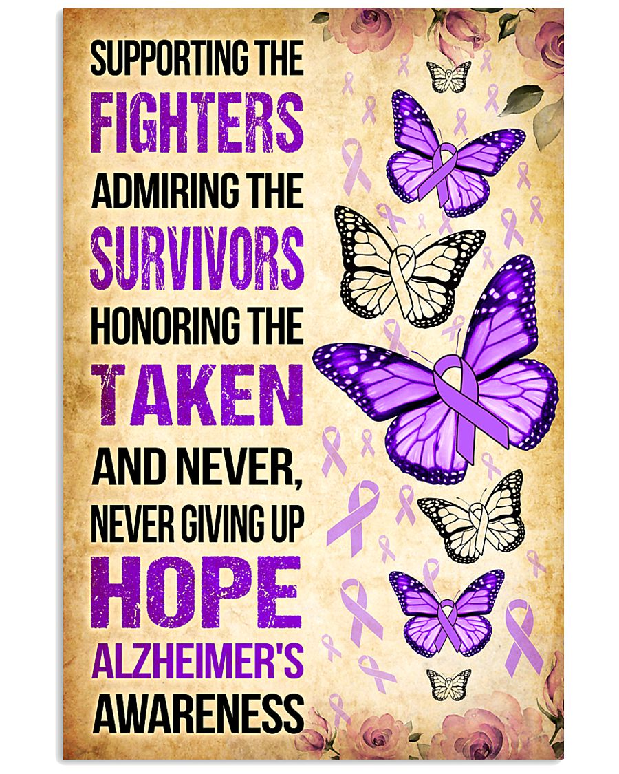 Alzheimer's - Supporting Poster STAR 11x17 Poster