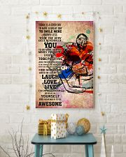 11-goalie- TODAY IS A GOOD DAY POSTER kd 11x17 Poster lifestyle-holiday-poster-3