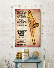 TROMBONE - TODAY IS A GOOD DAY POSTER 11x17 Poster lifestyle-holiday-poster-3