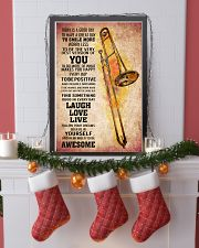 TROMBONE - TODAY IS A GOOD DAY POSTER 11x17 Poster lifestyle-holiday-poster-4