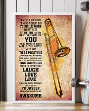 TROMBONE - TODAY IS A GOOD DAY POSTER 11x17 Poster lifestyle-poster-4