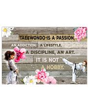 12 taekwondo IS PASSION POSTER 17x11 Poster front
