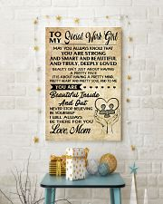TO MY SOCIAL WORK GIRL 16x24 Poster lifestyle-holiday-poster-3