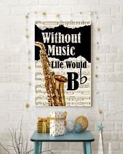 WITHOUT MUSIC LIFE WOULD - SAXOPHONE POSTER 11x17 Poster lifestyle-holiday-poster-3