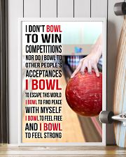 I DON'T BOWL TO WIN COMPETITIONS - BOWLING 11x17 Poster lifestyle-poster-4