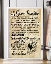 18 TO MY Swim Daughter 11x17 Poster lifestyle-poster-4